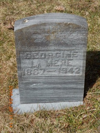LAMERE, GEORGINE - Marquette County, Michigan | GEORGINE LAMERE - Michigan Gravestone Photos