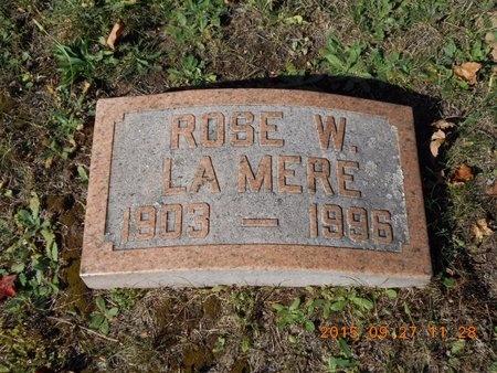 LAMERE, ROSE - Marquette County, Michigan | ROSE LAMERE - Michigan Gravestone Photos