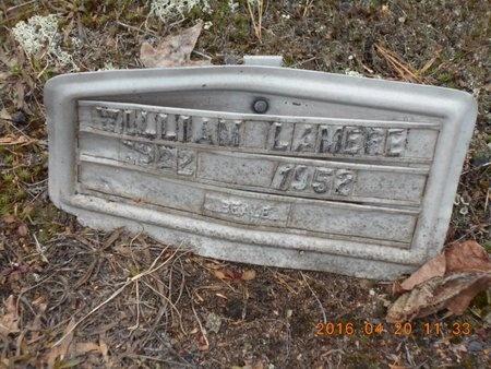 LAMERE, WILLIAM - Marquette County, Michigan | WILLIAM LAMERE - Michigan Gravestone Photos