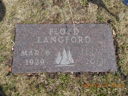 LANGFORD, FLOYD - Marquette County, Michigan   FLOYD LANGFORD - Michigan Gravestone Photos