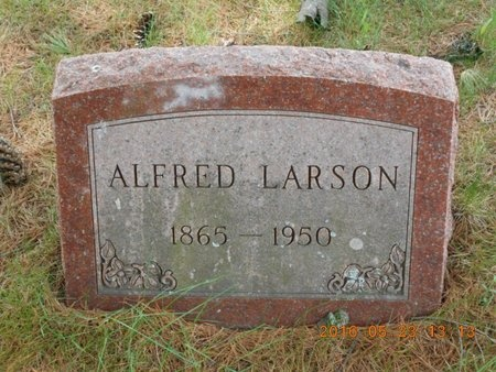 LARSON, ANNA - Marquette County, Michigan | ANNA LARSON - Michigan Gravestone Photos