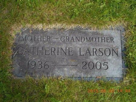 LARSON, CATHERINE - Marquette County, Michigan | CATHERINE LARSON - Michigan Gravestone Photos
