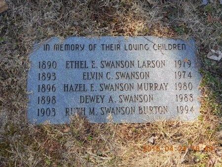 SWANSON MURRAY, HAZEL E. - Marquette County, Michigan | HAZEL E. SWANSON MURRAY - Michigan Gravestone Photos