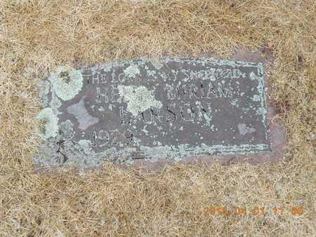 LARSON, HELEN MIRIAM - Marquette County, Michigan   HELEN MIRIAM LARSON - Michigan Gravestone Photos