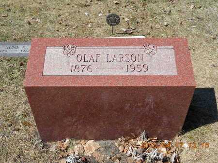 LARSON, OLAF - Marquette County, Michigan | OLAF LARSON - Michigan Gravestone Photos