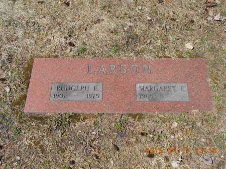 LARSON, MARGARET E. - Marquette County, Michigan | MARGARET E. LARSON - Michigan Gravestone Photos