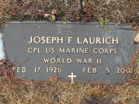 LAURICH, JOSEPH F. - Marquette County, Michigan   JOSEPH F. LAURICH - Michigan Gravestone Photos