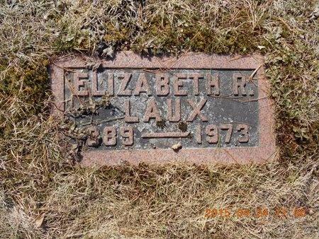 LAUX, ELIZABETH R. - Marquette County, Michigan   ELIZABETH R. LAUX - Michigan Gravestone Photos