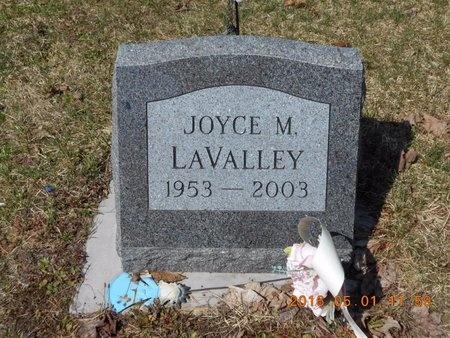 LAVALLEY, JOYCE M. - Marquette County, Michigan   JOYCE M. LAVALLEY - Michigan Gravestone Photos
