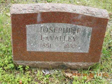 LAVALLEY, JOSEPHINE - Marquette County, Michigan | JOSEPHINE LAVALLEY - Michigan Gravestone Photos