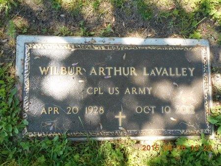 LAVALLEY, WILBUR ARTHUR - Marquette County, Michigan | WILBUR ARTHUR LAVALLEY - Michigan Gravestone Photos