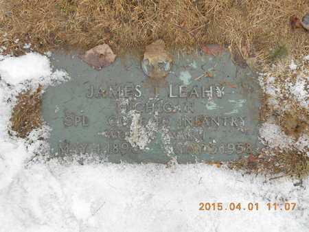 LEAHY, JAMES - Marquette County, Michigan   JAMES LEAHY - Michigan Gravestone Photos