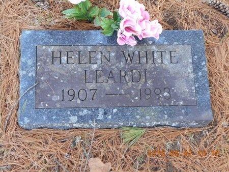 WHITE LEARDI, HELEN - Marquette County, Michigan | HELEN WHITE LEARDI - Michigan Gravestone Photos