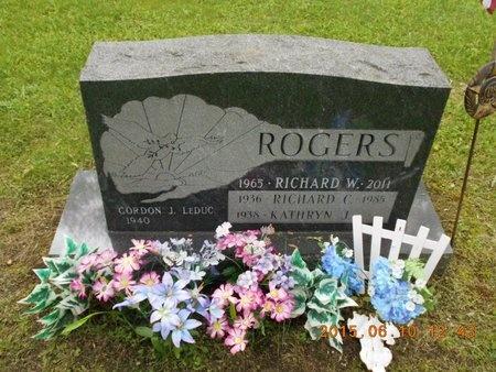 ROGERS, KATHRYN J. - Marquette County, Michigan | KATHRYN J. ROGERS - Michigan Gravestone Photos