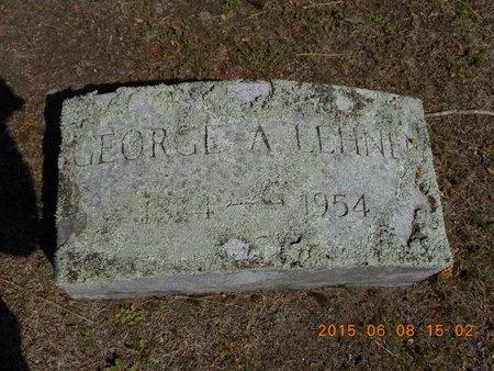 LEHNEN, GEORGE A. - Marquette County, Michigan   GEORGE A. LEHNEN - Michigan Gravestone Photos