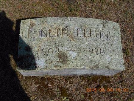 LEHNEN, KENNETH J. - Marquette County, Michigan | KENNETH J. LEHNEN - Michigan Gravestone Photos
