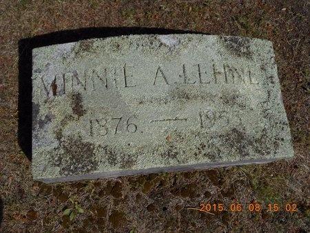 LEHNEN, MINNIE A. - Marquette County, Michigan   MINNIE A. LEHNEN - Michigan Gravestone Photos
