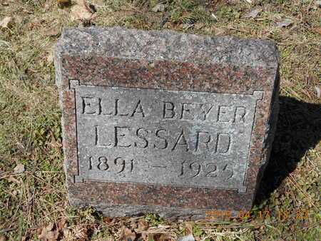 LESSARD, ELLA - Marquette County, Michigan | ELLA LESSARD - Michigan Gravestone Photos