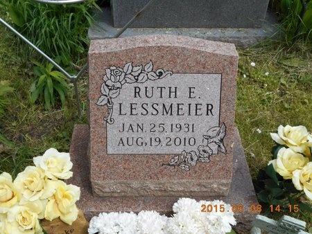 LESSMEIER, RUTH E. - Marquette County, Michigan   RUTH E. LESSMEIER - Michigan Gravestone Photos