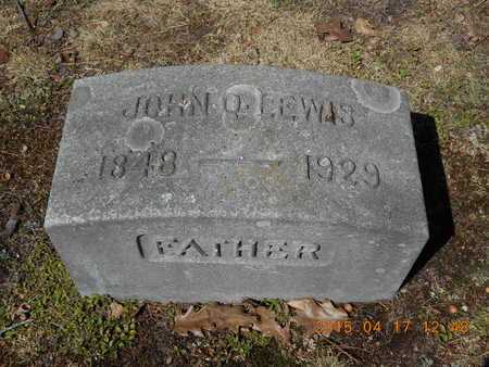LEWIS, JOHN QUINCY - Marquette County, Michigan | JOHN QUINCY LEWIS - Michigan Gravestone Photos