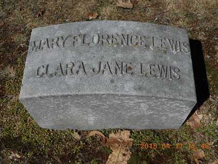 LEWIS, MARY FLORENCE - Marquette County, Michigan | MARY FLORENCE LEWIS - Michigan Gravestone Photos