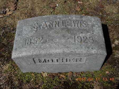 LEWIS, SAMANTHA ANN - Marquette County, Michigan | SAMANTHA ANN LEWIS - Michigan Gravestone Photos