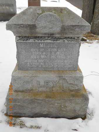 LEY, MINNIE - Marquette County, Michigan | MINNIE LEY - Michigan Gravestone Photos