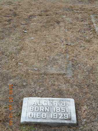 LIBBY, ALGER J. - Marquette County, Michigan | ALGER J. LIBBY - Michigan Gravestone Photos