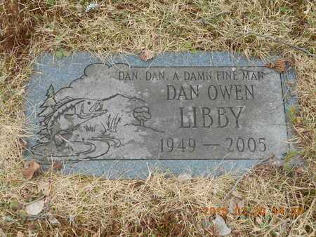 LIBBY, DAN OWEN - Marquette County, Michigan | DAN OWEN LIBBY - Michigan Gravestone Photos