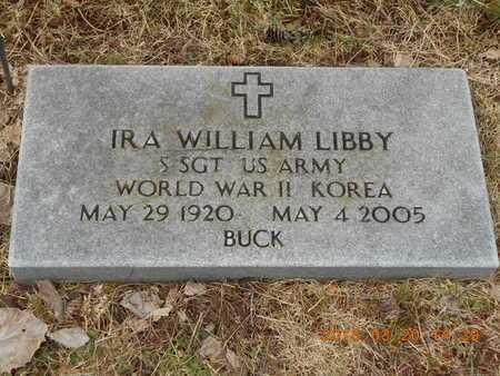 LIBBY, IRA WILLIAM - Marquette County, Michigan | IRA WILLIAM LIBBY - Michigan Gravestone Photos