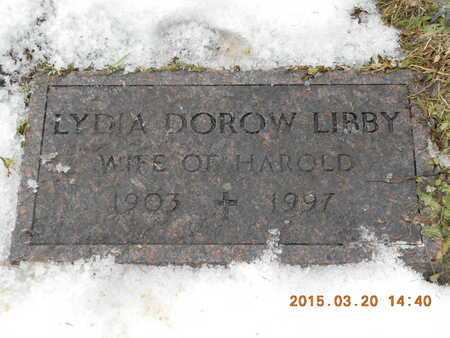 LIBBY, LYDIA - Marquette County, Michigan | LYDIA LIBBY - Michigan Gravestone Photos
