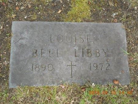 LIBBY, LOUISE - Marquette County, Michigan   LOUISE LIBBY - Michigan Gravestone Photos
