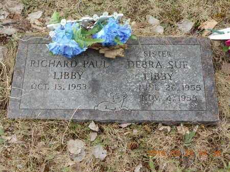 LIBBY, RICHARD PAUL - Marquette County, Michigan | RICHARD PAUL LIBBY - Michigan Gravestone Photos