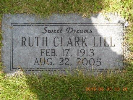 LILL, RUTH - Marquette County, Michigan | RUTH LILL - Michigan Gravestone Photos