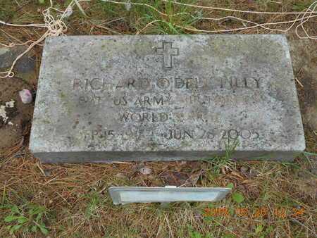 LILLY, RICHARD O'DELL - Marquette County, Michigan | RICHARD O'DELL LILLY - Michigan Gravestone Photos