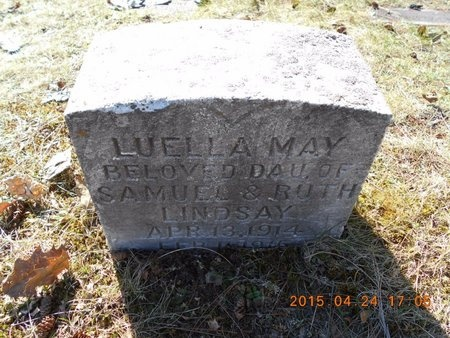 LINDSAY, LUELLA MAY - Marquette County, Michigan   LUELLA MAY LINDSAY - Michigan Gravestone Photos
