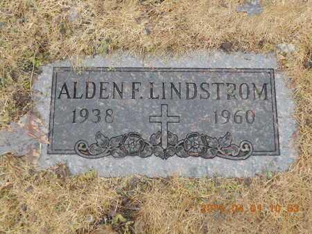 LINDSTROM, ALDEN F. - Marquette County, Michigan   ALDEN F. LINDSTROM - Michigan Gravestone Photos