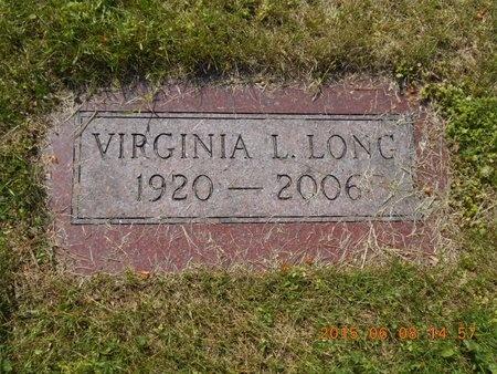 LONG, VIRGINIA L. - Marquette County, Michigan | VIRGINIA L. LONG - Michigan Gravestone Photos