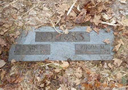 LOUCKS, EDWIN G. - Marquette County, Michigan | EDWIN G. LOUCKS - Michigan Gravestone Photos