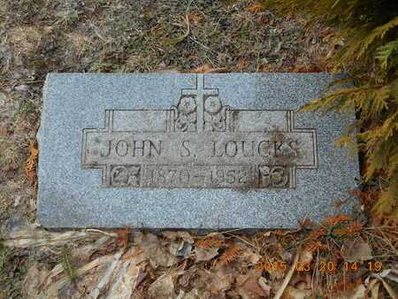 LOUCKS, JOHN S. - Marquette County, Michigan | JOHN S. LOUCKS - Michigan Gravestone Photos