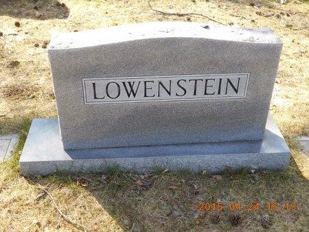 LOWENSTEIN, FAMILY - Marquette County, Michigan | FAMILY LOWENSTEIN - Michigan Gravestone Photos