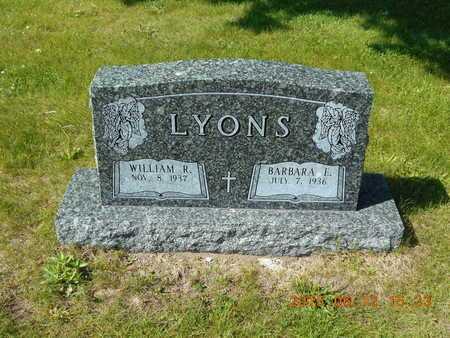 LYONS, BARBARA E. - Marquette County, Michigan   BARBARA E. LYONS - Michigan Gravestone Photos