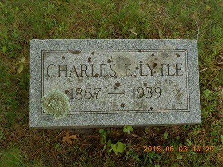 LYTLE, CHARLES E. - Marquette County, Michigan   CHARLES E. LYTLE - Michigan Gravestone Photos