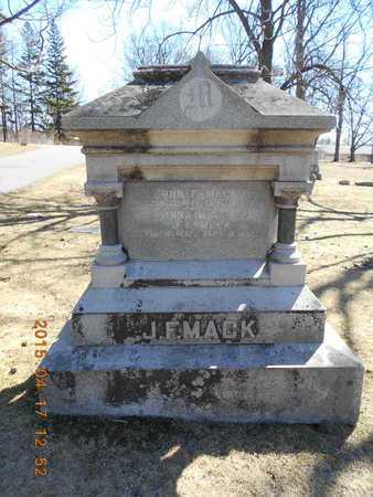 MACK, FAMILY - Marquette County, Michigan   FAMILY MACK - Michigan Gravestone Photos