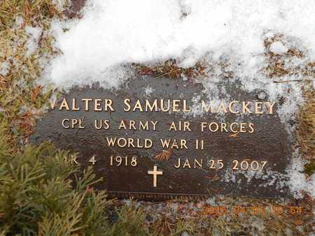 MACKEY, WALTER SAMUEL - Marquette County, Michigan | WALTER SAMUEL MACKEY - Michigan Gravestone Photos