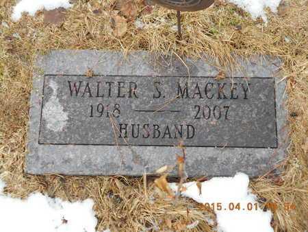 MACKEY, WALTER SAMUEL - Marquette County, Michigan   WALTER SAMUEL MACKEY - Michigan Gravestone Photos
