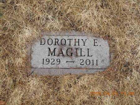 MAGILL, DOROTHY E. - Marquette County, Michigan   DOROTHY E. MAGILL - Michigan Gravestone Photos