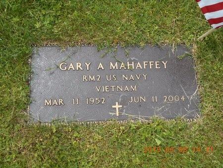 MAHAFFEY, GARY A. - Marquette County, Michigan | GARY A. MAHAFFEY - Michigan Gravestone Photos