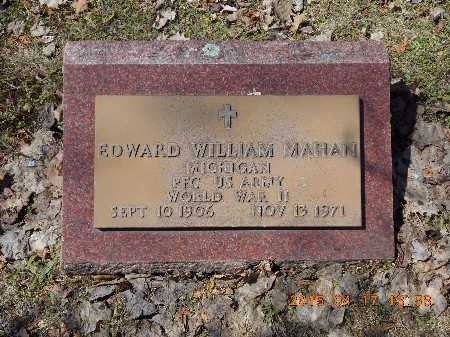 MAHAN, EDWARD WILLIAM - Marquette County, Michigan   EDWARD WILLIAM MAHAN - Michigan Gravestone Photos