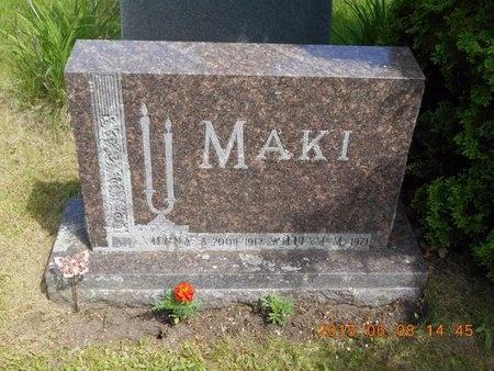MAKI, VIENNA A. - Marquette County, Michigan | VIENNA A. MAKI - Michigan Gravestone Photos